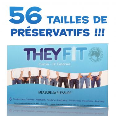 Preservativo TheyFit x6 My One Perfect Fit